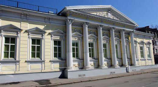 Главный дом усадьбы А.Г. Щепочкиной — Н.А. Львова