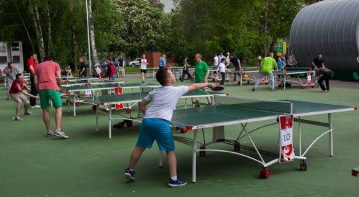 Пинг-понг на ВДНХ