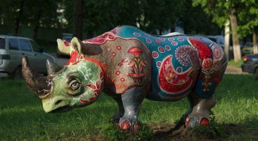 Ситцевый носорог