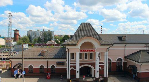 Железнодорожный вокзал Сергиева Посада
