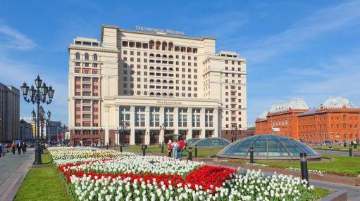 Здание гостиницы «Москва»