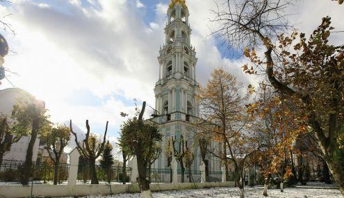 Колокольня Свято-Троицкой Сергиевой лавры