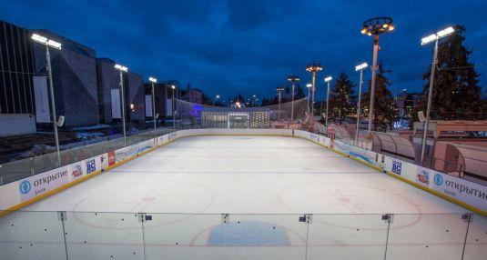 Хоккейная площадка на ВДНХ