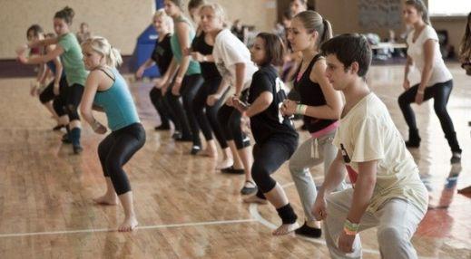 Коррекция фигуры путем танцев отдых