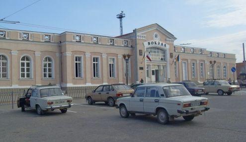 Железнодорожный вокзал Керчи