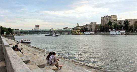 Причал на Пушкинской набережной